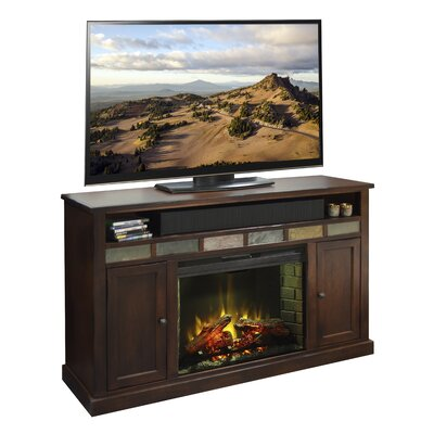 Fire Creek 62 TV Stand with Fireplace
