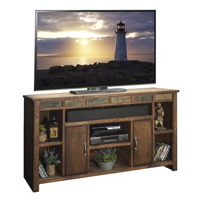 Old West 75.5 TV Stand Width of TV Stand: 37.13 H x 65.44 W x 17.25 D