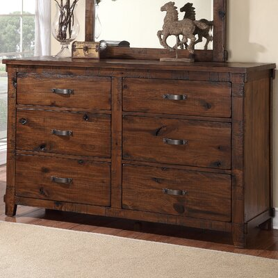 Camas 6 Drawer Double Dresser