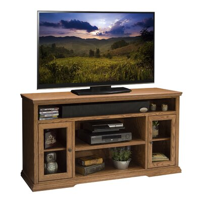 Colonial Place 62 TV Stand Width of TV Stand: 32.5 H x 61.75 W x 17.47 D