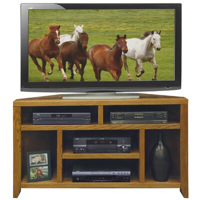 Cheap Legends Furniture City Loft 52″ Corner TV Stand in Golden Oak (LFN1353)