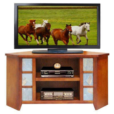 Cheap Legends Furniture Laredo Creek 49″ Corner TV Stand in Spiced Rum (LFN1690)
