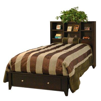 Image of Urban Loft Twin Bed in Mocha (LFN1624)