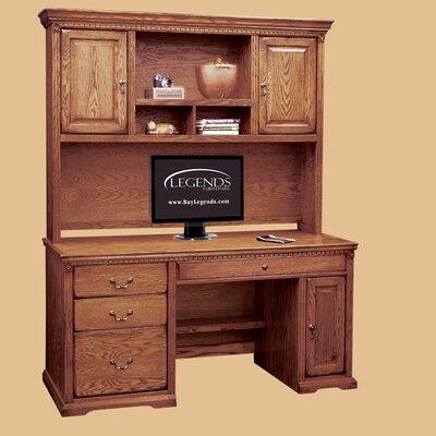 Furniture Gt Office Furniture Gt Hutch Gt Oak Computer Desk