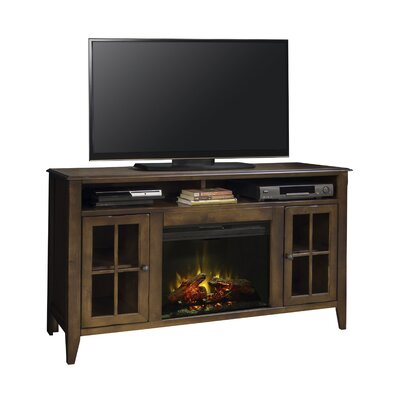 Delron 60 TV Stand with Fireplace