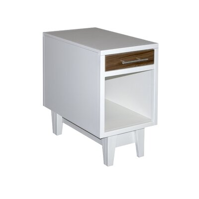 Edmund End Table with Storage