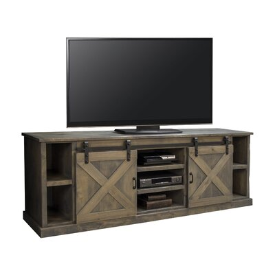Pullman 85 TV Stand Color: Barnwood