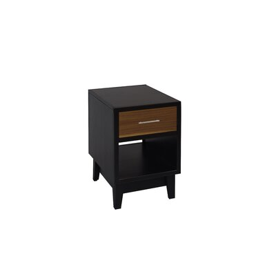 Darrel End Table with Storage