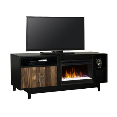 Darrel 68 TV Stand with Fireplace