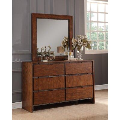 Silvana 6 Drawer Dresser