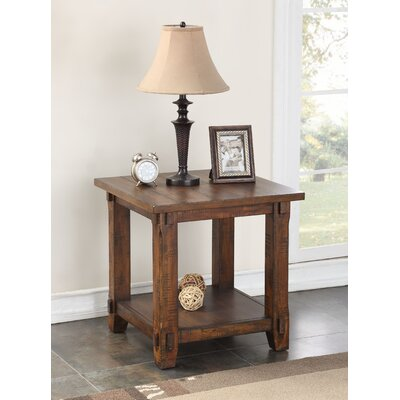 Rancho Santa Margarita Wood End Table