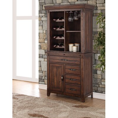 Rancho Santa Margarita 12 Bottle Floor Wine Cabinet