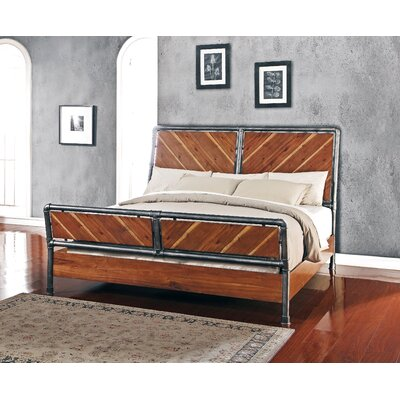 Perei Panel Headboard Size: King