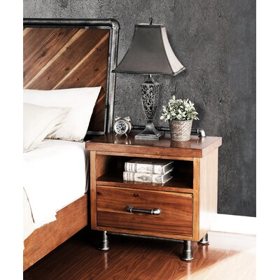 Perei 1 Drawer Nightstand