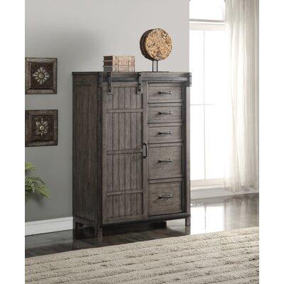 Jigna 5 Drawer Combo Dresser