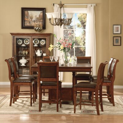 Legends furniture cambridge dining table in cherry lfn1619 dining