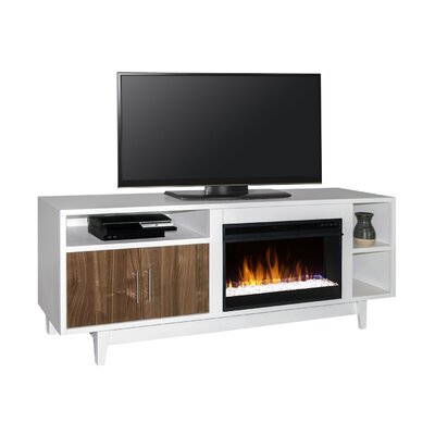 Edmund 68 TV Stand with Fireplace