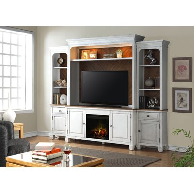 Heron Entertainment Center with Fireplace