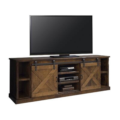 Pullman 85 TV Stand Color: Aged Whiskey