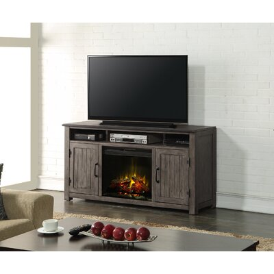 Jigna 60 TV Stand with Fireplace Fireplace Included: Yes