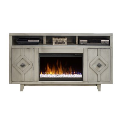 Bartholdi 61 TV Stand with Fireplace