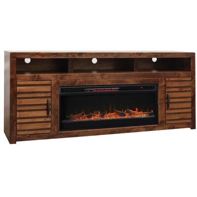 Belle Isle 78 TV Stand Electric Fireplace