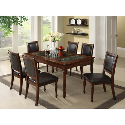 Legends furniture cambridge dining table in cherry for Affordable furniture cambridge