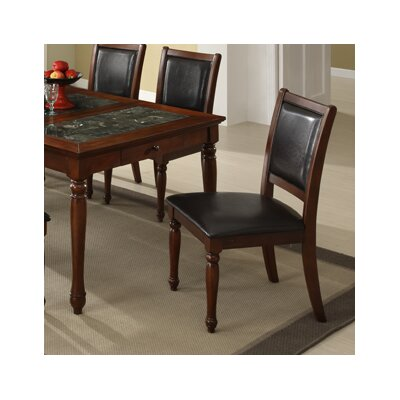 Legends furniture cambridge side chair in cherry lfn1538 for Affordable furniture cambridge