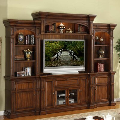 Denissa Wood Entertainment Center