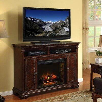 "Legends Furniture Franklin 59"" TV Stand with Electric Fireplace at Sears.com"