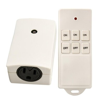 Wireless Remote Control Outlets