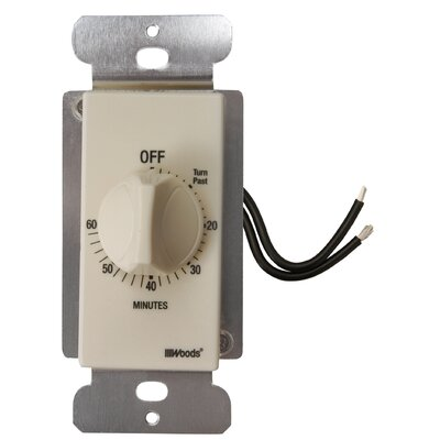 In-Wall 60-Minute Spring Wound Timer