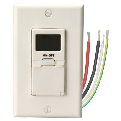 In-Wall 7-Day Digital Timer