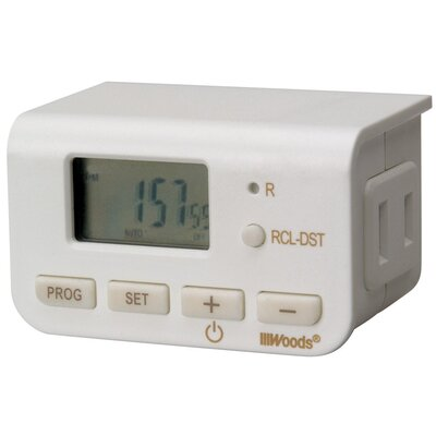 24-Hour Mini Digital Outlet Timer