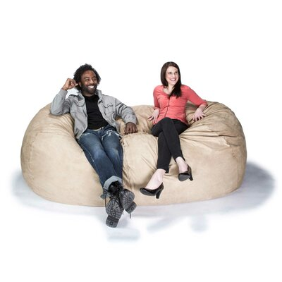 Giant Bean Bag Sofa Upholstery: Camel
