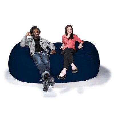 Giant Bean Bag Sofa Upholstery: Microsuede Navy