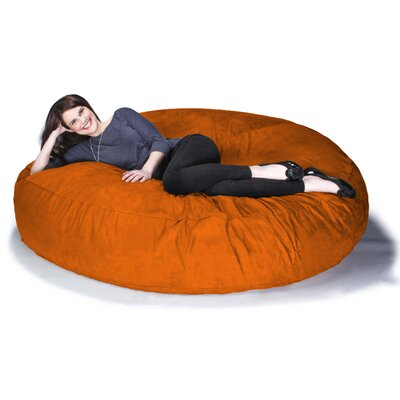 Cocoon Jaxx Bean Bag Sofa Upholstery: Orange