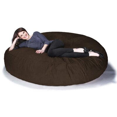 Cocoon Jaxx Bean Bag Sofa Upholstery: Chocolate