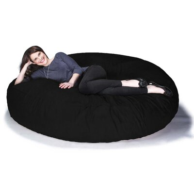 Cocoon Jaxx Bean Bag Sofa Upholstery: Black