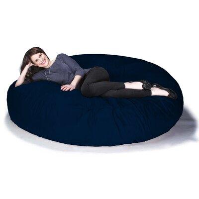 Cocoon Jaxx Bean Bag Sofa Upholstery: Microsuede Navy