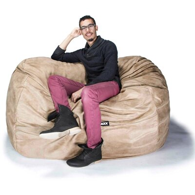 Bean Bag Loveseat Upholstery: Camel