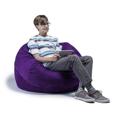 Kids Bean Bag Chair Upholstery: Grape