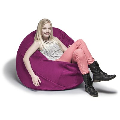 Cocoon Bean Bag Lounger Upholstery: Fuchsia
