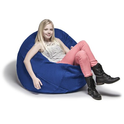 Cocoon Bean Bag Lounger Upholstery: Blueberry