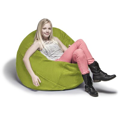 Cocoon Bean Bag Lounger Upholstery: Lime