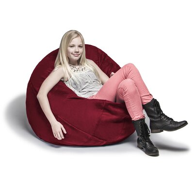 Cocoon Bean Bag Lounger Upholstery: Cherry