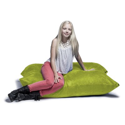 Jaxx Jr. Pillow Saxx Bean Bag Lounger Upholstery: Lime