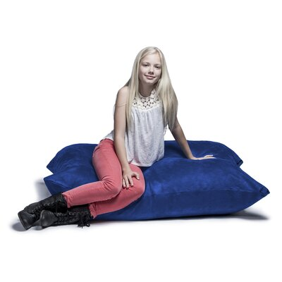 Jaxx Jr. Pillow Saxx Bean Bag Lounger Upholstery: Blueberry