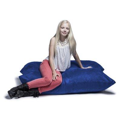 Jaxx Jr. Pillow Saxx Bean Bag Lounger Upholstery: Blueberry