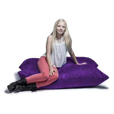 Jaxx Jr. Pillow Saxx Bean Bag Lounger Upholstery: Grape